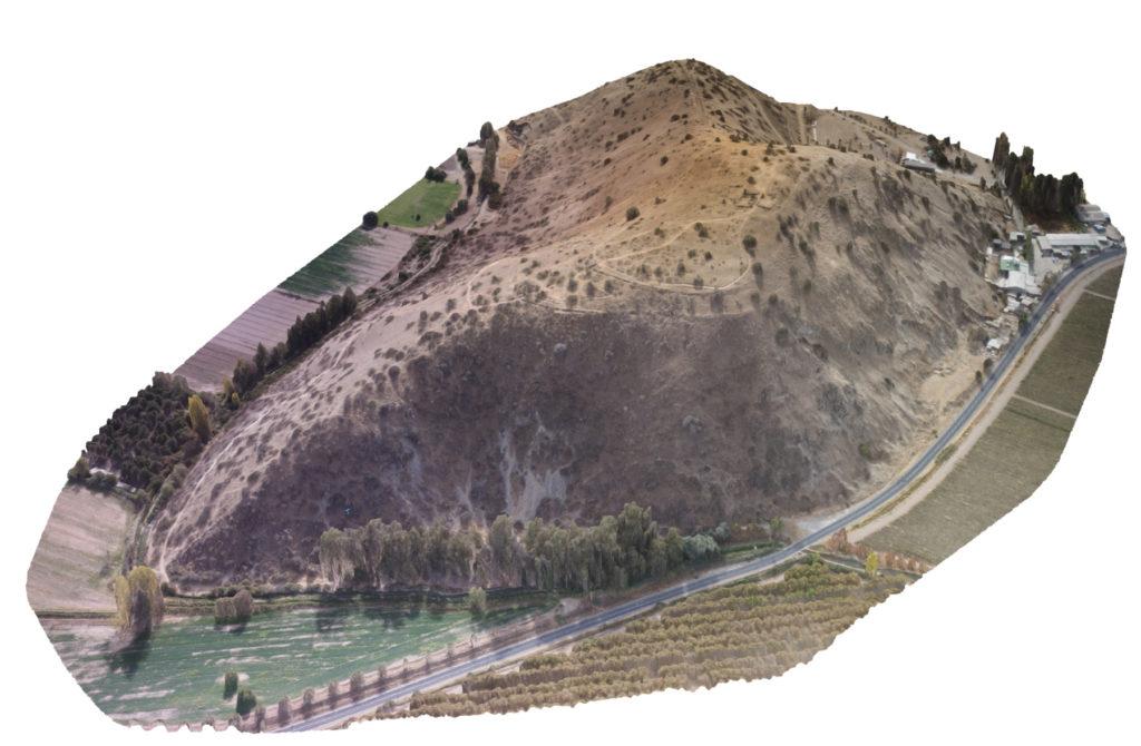 Módelo 3D del Cerro Chena